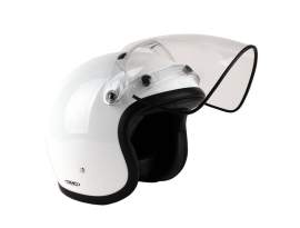 DMD Visor Vintage Flip-up Visor Clear