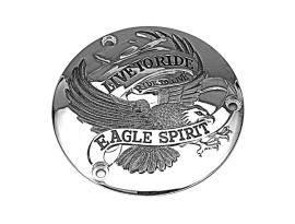 Zodiac Eagle Spirit Horizontal Point Cover Chrome