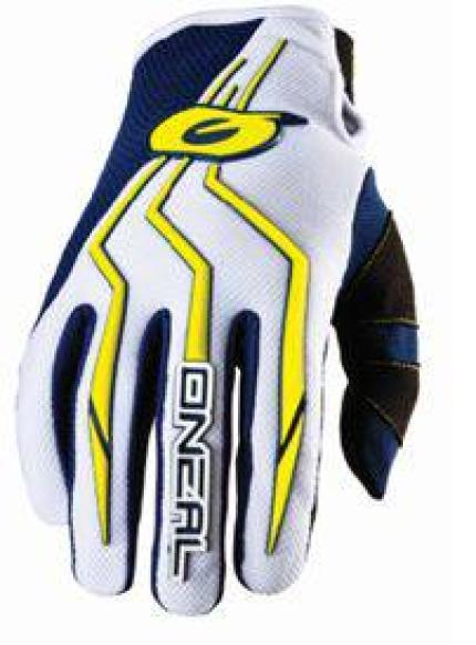 Oneal 2018 Element Blue Yellow Gloves - Youth