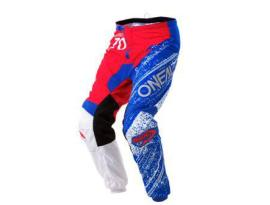 Oneal 2018 Element Burnout Red White Blue Pants