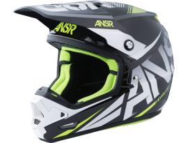Answer Evolve 3 Black/White Helmet 2017 - Adult
