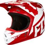 Fox 2018 V1 Race ECE Red Helmet