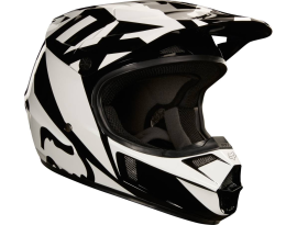 Fox 2018 Youth V1 Race Black Helmet