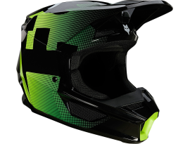 Fox 2021 V1 Tayzer Black Helmet