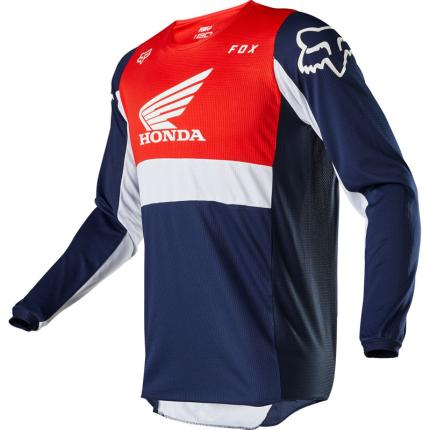 Fox 2020 180 Honda Navy and Red Jersey