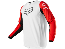 Fox 2020 180 Prix White Black and Red Jersey