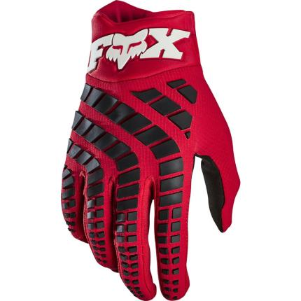 Fox 2020 360 Flame Red Gloves