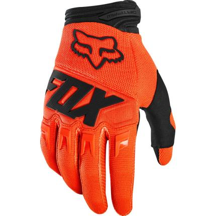 Fox 2020 Dirtpaw Race Flo Orange Gloves