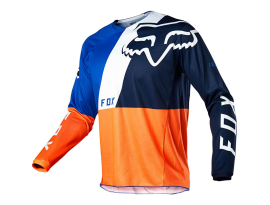 Fox 2020 Youth 180 Limited Edition Lovl Orange and Blue Jersey
