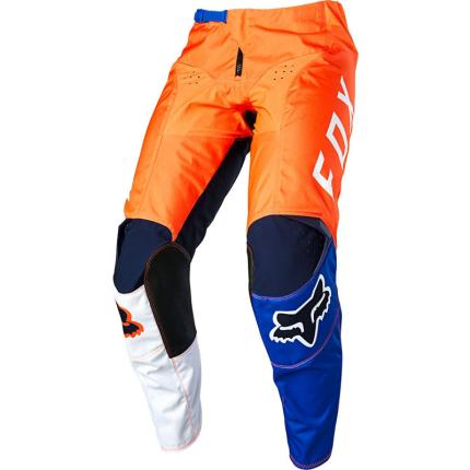 Fox 2020 Youth 180 Limited Edition Lovl Orange and Blue Pants