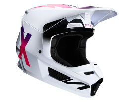 Fox 2020 V1 Werd White Helmet