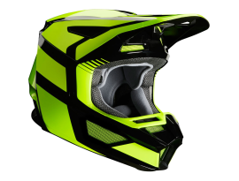 Fox 2020 V2 Hayl Yellow Helmet