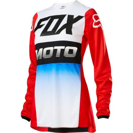 Fox 2020 Womens 180 Fyce Blue and Red Jersey
