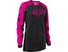 Fox 2021 180 Djet Black-Pink Womens Jersey