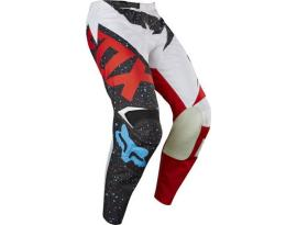 2017 Fox 180 Nirv Red White Pants