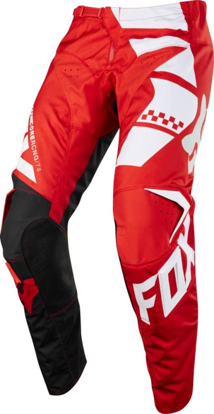 Fox 2018 Kids 180 Sayak Red Pants