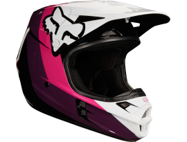 Fox 2018 Youth V1 Hayln Black Pink Helmet