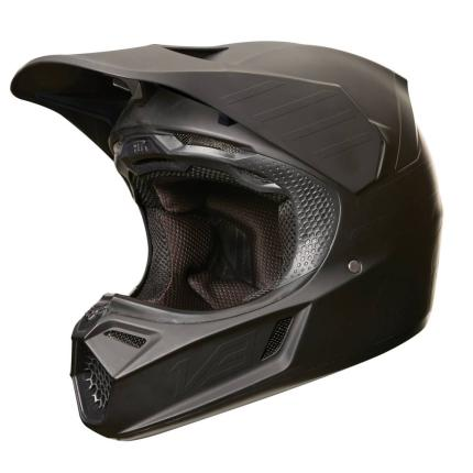 Fox 2018 V3 Matte Carbon Helmet