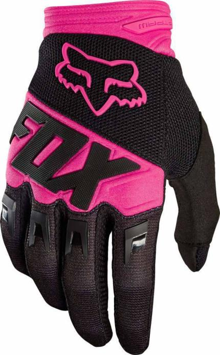 Fox 2018 Dirtpaw Race Black Pink Gloves