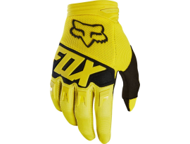 Fox 2018 Dirtpaw Race Yellow Gloves