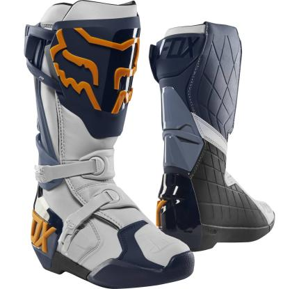 Fox 2020 Comp R Navy Orange Boots