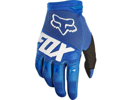 Fox 2019 Dirtpaw Race Blue Gloves