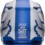Fox 2019 V1 Mata Blue White Helmet