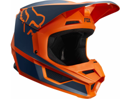 Fox 2019 Youth V1 Przm Orange Helmet