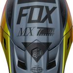 Fox 2019 V2 Murc Blue Steel Helmet