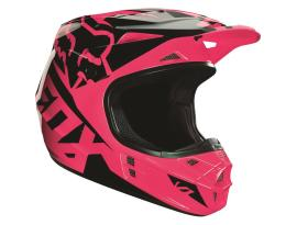 Fox V1 Race Pink Helmet 2016