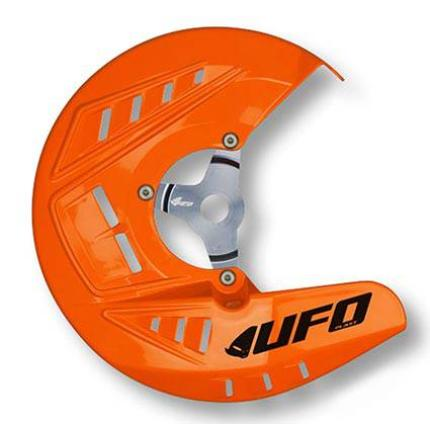UFO Front Disc Cover KTM SX/SFXf 10-14/EXC 10-15 (95-18 Orange)
