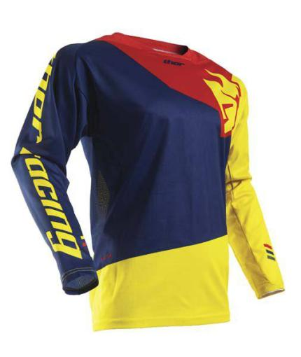 Thor 2017 Fuse Pinin Navy Red Jersey