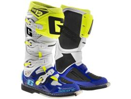 Gaerne 2017 SG12 Boots - White/Blue/Yellow