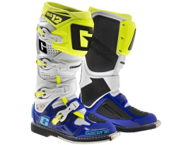 Gaerne SG-12 White Grey and Yellow Boots