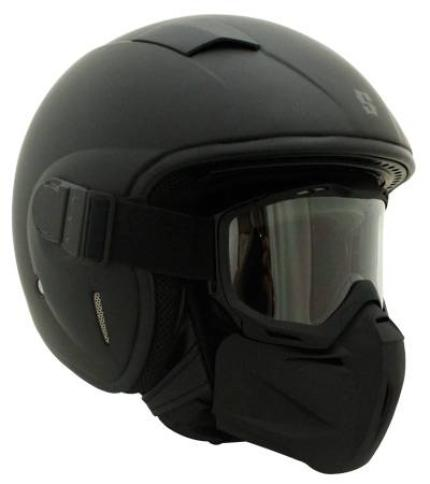 Scorpion Gangster Matte Black Helmet