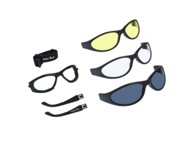 Ugly Fish Glide Goggles 3 Pack - Matte Black
