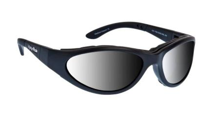 Ugly Fish Glide Goggles - Matte Black Photocromatic Smoke