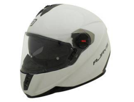 Rjays GP4 with Twin Sheild System Pearl White Helmet