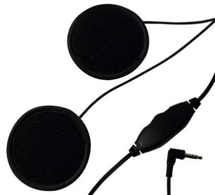 Tarmac Helmet Speakers with Volume Control