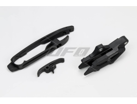UFO Husqvarna Chain Guide/Swingarm Slider Kit TC/TE 125/250/300 14-17, FC/FE 250/350/450/501 14-17