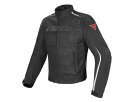 Dainese Hydra flux Black and White D-Dry Jacket