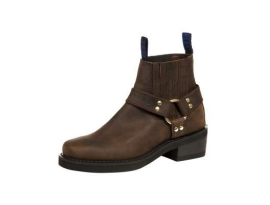 Johnny Reb Classic Short Brown Boots