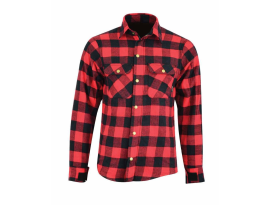 Johnny Reb Waratah Plaid Kevlar Red Shirt