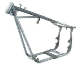 "Kraftech Frame - FXR 180, 1.25"" Diamter, 34 Degree Rake, 2"" Stretch with Swingarm"