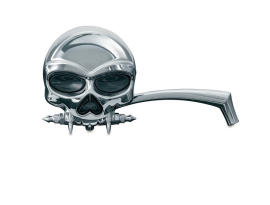 Kuryakyn Skull Mirrors - Chrome