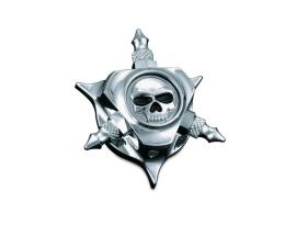 Kuryakyn Zombie Oil Filler Cap - Chrome