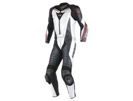 Dainese Laguna Seca D1 2Pce White Red Suit