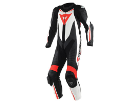 Dainese Laguna Seca D1 1Pce Black White Red Suit