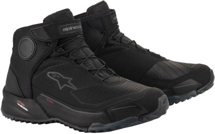 Alpinestars CR-X Drystar Black Riding Shoes