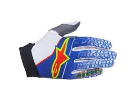 Alpinestars 2017 Limited Edition Aviator Gloves - Blue/White/Red
